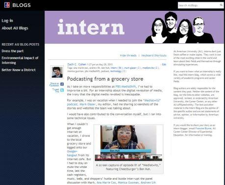 AU Career Center Blog 5.28.13