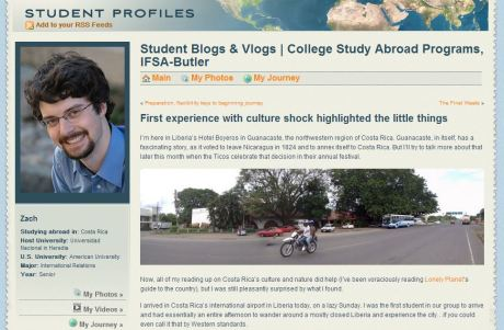 """First experience with culture shock highlighted the little things"" on IFSA-Butler's blog"