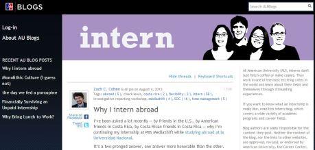 AU Career Center blog 8.4.13