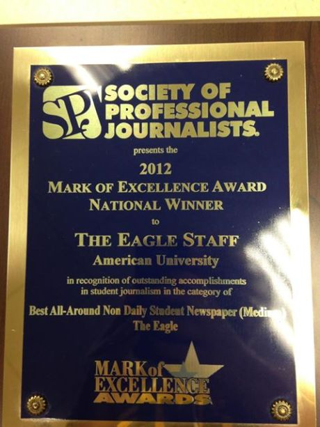 The Eagle, nationally recognized