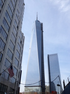 One World Trade Center, June 2013. Photo by Zach C. Cohen
