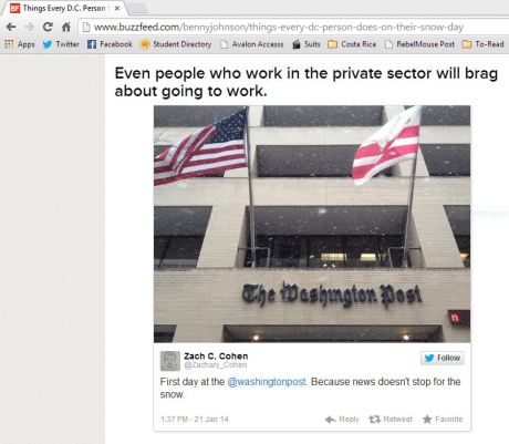 Screenshot of my tweet on Buzzfeed